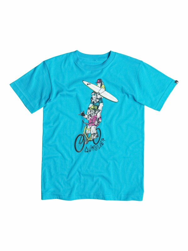 0 Boys 4-7 Monkeyteers T-Shirt  40554063 Quiksilver