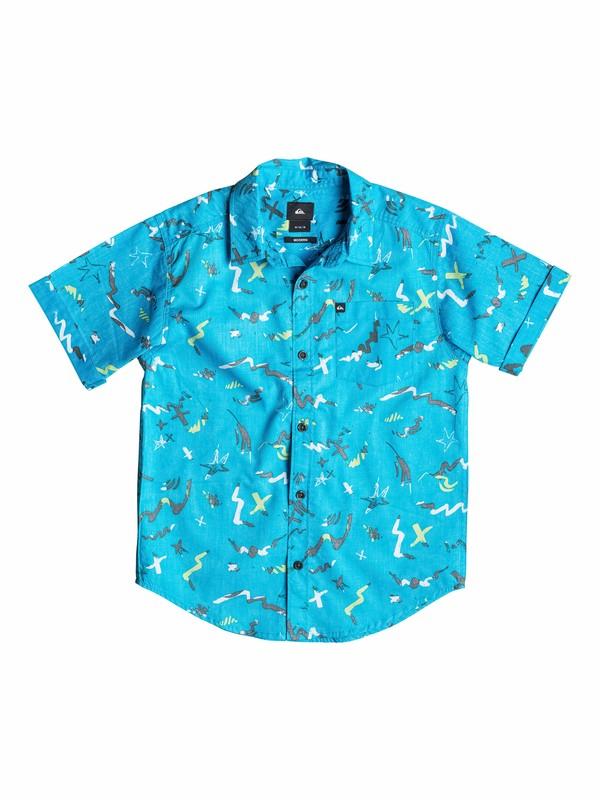 0 Boys 4-7 Warsplash Reverse Shirt  40554134 Quiksilver