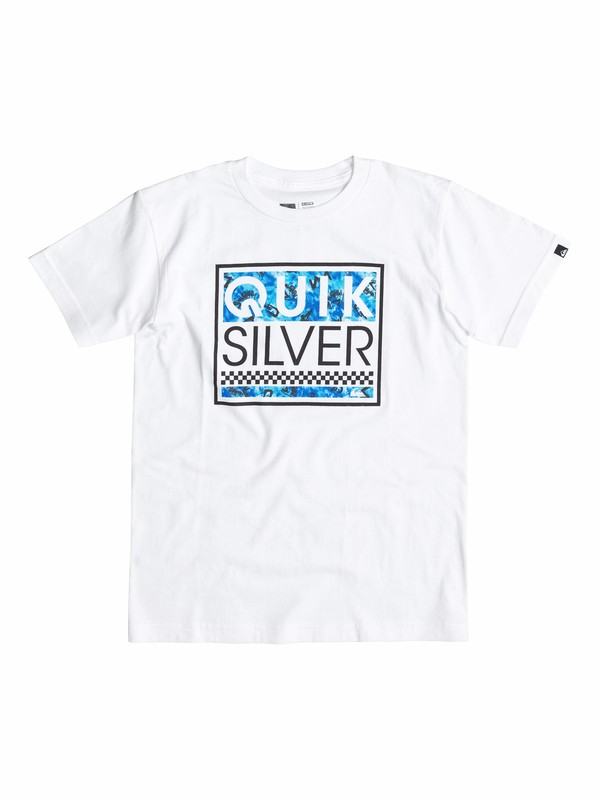0 Boys 4-7 Blockhead Ghetto T-Shirt  40554200 Quiksilver