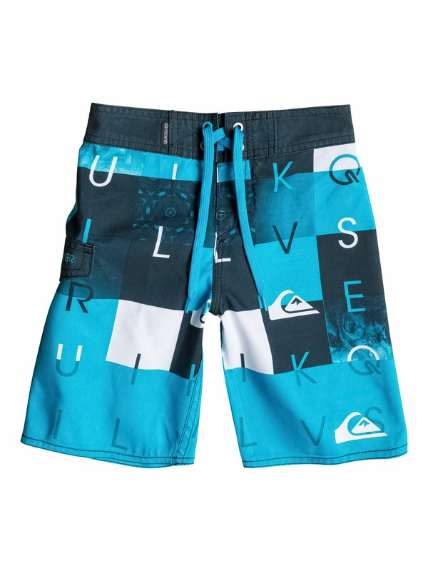 0 Boys 4-7 Checkmate Boardshorts  40555006 Quiksilver