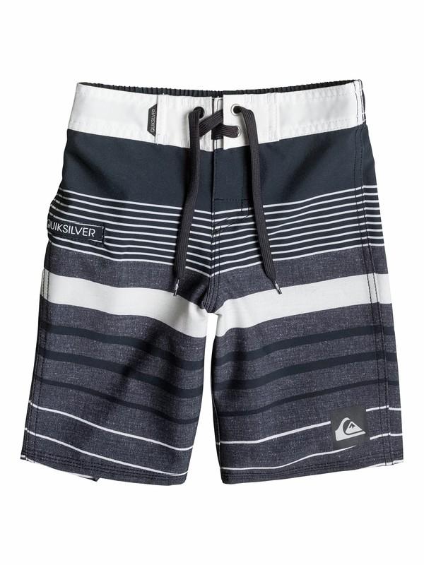 0 Boys 4-7 Yg Stripe Boardshorts  40555032 Quiksilver