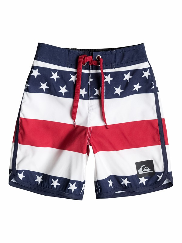 0 Boys 4-7 40Oz Of July Boardshorts  40555086 Quiksilver