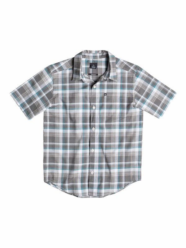 0 Boys 8-16 General Pat Short Sleeve Shirt  40564012 Quiksilver