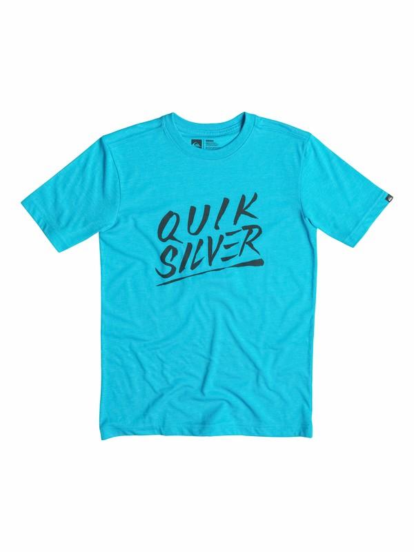 0 Boys 8-16 Slash Script T-Shirt  40564025 Quiksilver