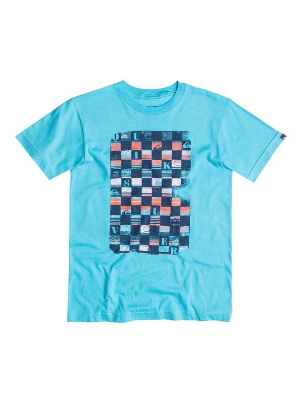 0 Boys 8-16 Checka T-Shirt  40564094 Quiksilver