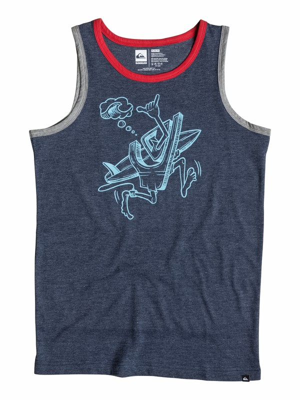 0 Boys 8-16 To The Beach Tank  40564160 Quiksilver