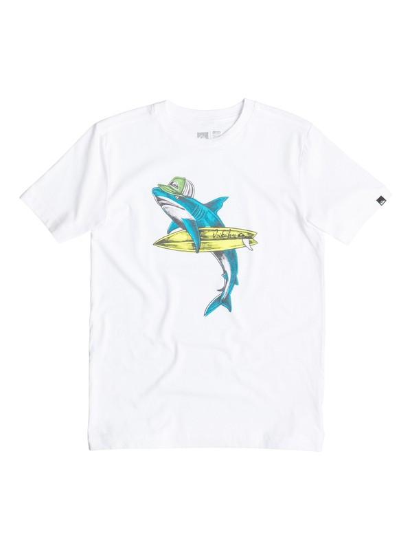 0 Boys 8-16 Sharky T-Shirt  40564170 Quiksilver