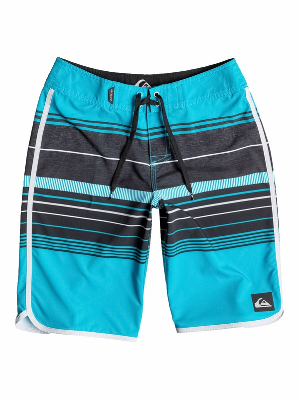 0 Boys 8-16 Pacific Stripe Boardshorts  40565005 Quiksilver