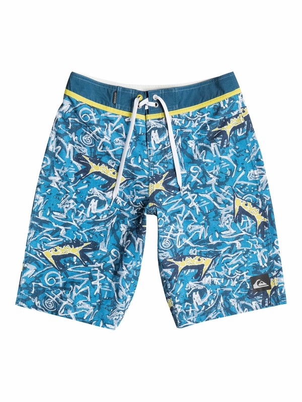 0 Boys 8-16 Mo Yoke Ghetto Boardshorts  40565031 Quiksilver