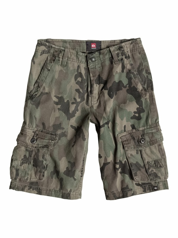 0 Boys 8-16 The Deluxe Shorts  40565035 Quiksilver