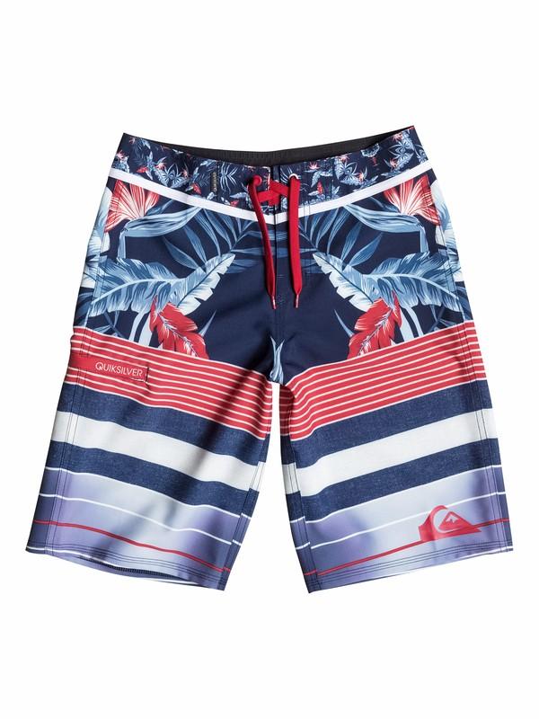 0 Boys 8-16 YG Remix Stripe Boardshorts  40565082 Quiksilver