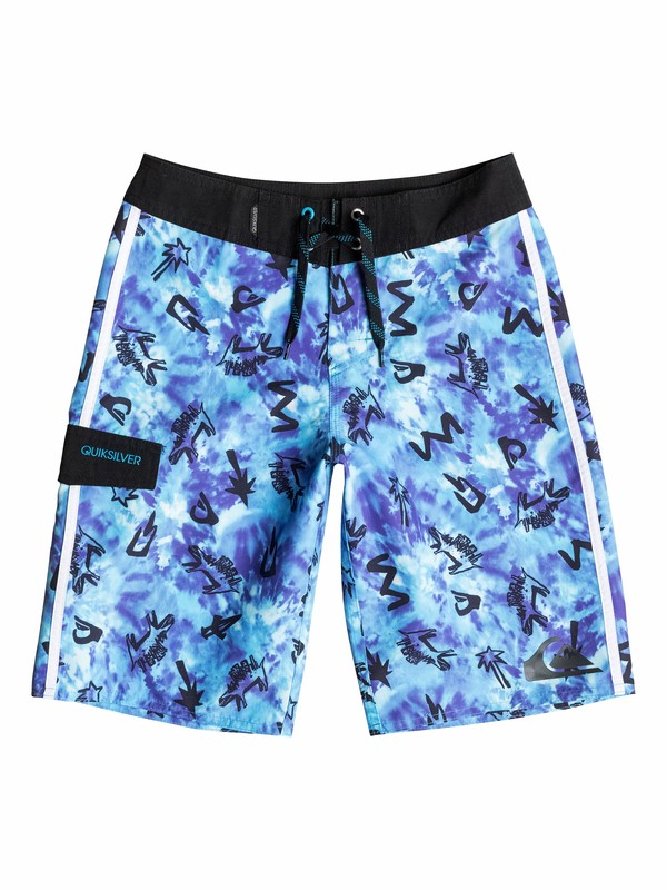 0 Boys 8-16 Ghetto City Boardshorts  40565084 Quiksilver