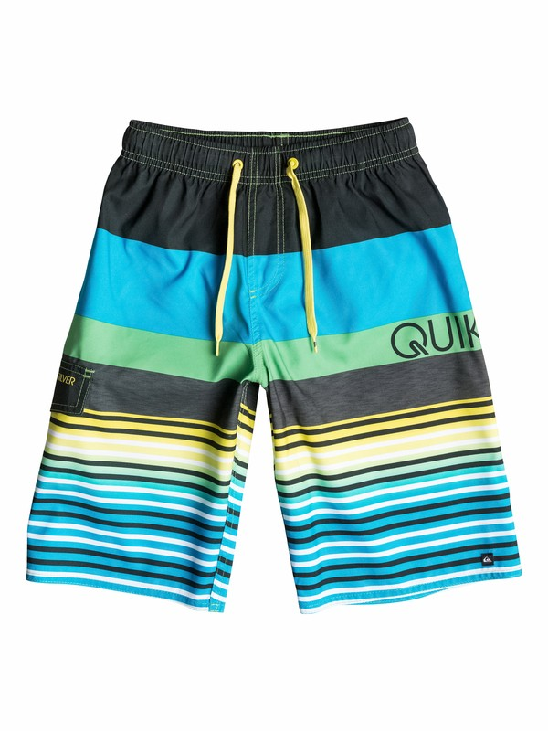 0 Boys 8-16 Lean And Mean Volley Volleys  40565090 Quiksilver