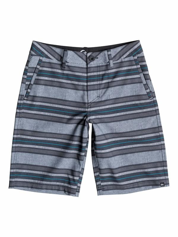 0 Boys 8-16 Stripe Amphibian Boardshorts  40565098 Quiksilver