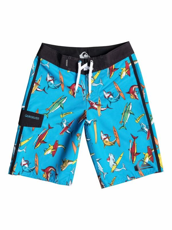 0 Boys 8-16 Shark Surf Boardshorts  40565102 Quiksilver