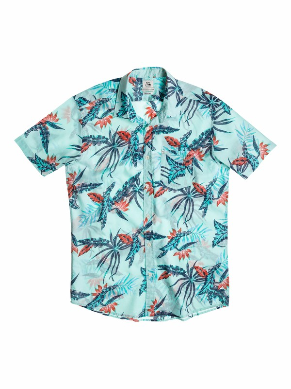 0 Baby Everyday Print Short Sleeve Shirt  40574050 Quiksilver