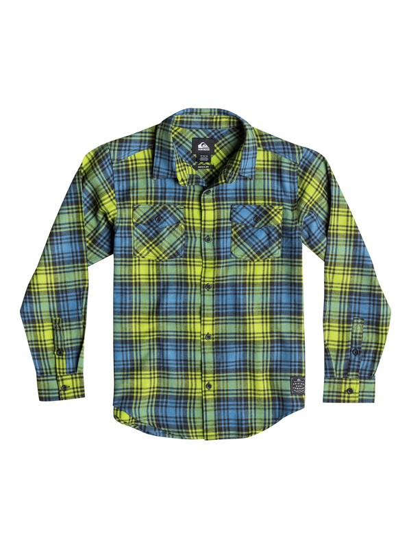 0 Boys 2-4 Everyday Flannel Long Sleeve Shirt  40644028 Quiksilver
