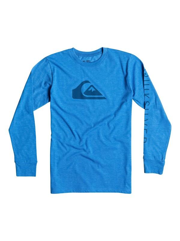 0 Boys 2-4 Logo Long Sleeve T-Shirt  40644050 Quiksilver