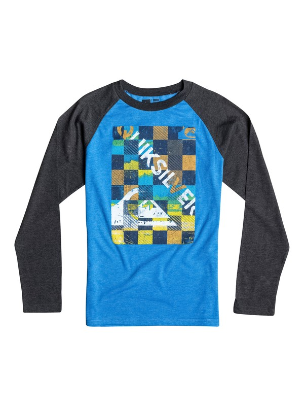 0 Boys 2-4 Checky Long Sleeve Tee  40644051 Quiksilver