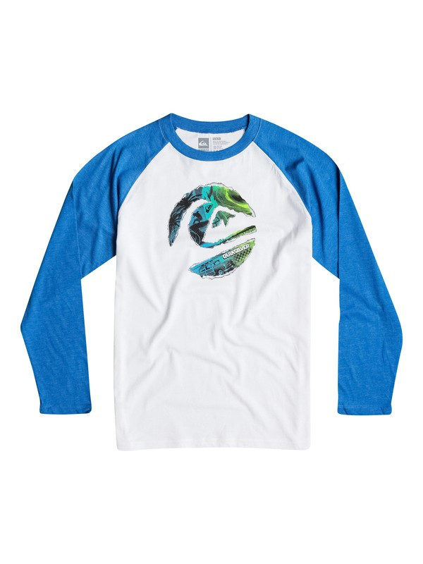 0 Boys 2-4 Ripped Circle Long Sleeve Tee  40644053 Quiksilver