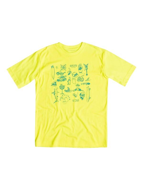 0 Boys 2-4 Essential T-Shirt  40644058 Quiksilver