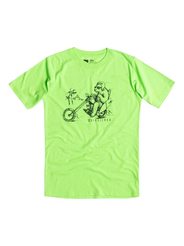 0 Boys 2-4 Bear Chopper Tee  40644082 Quiksilver