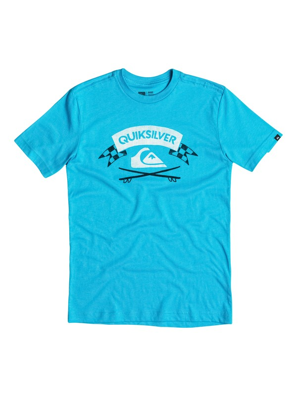 0 Boys 2-4 Crossed Boards T-Shirt  40644183 Quiksilver