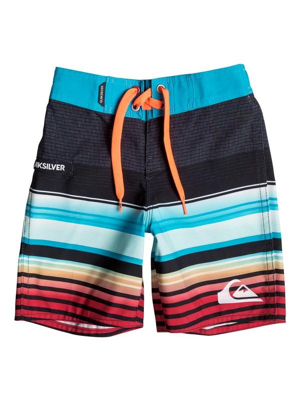 0 Boys 2-4 Everyday Stripe Boardshorts  40645038 Quiksilver