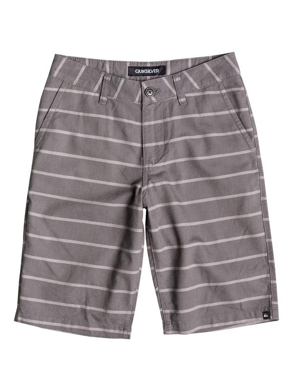 0 Boys 2-4 Everyday Oxford Stripe Shorts  40645046 Quiksilver