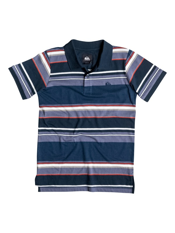 0 Boys 4-7 Decay Stripe Polo Shirt  40654006 Quiksilver