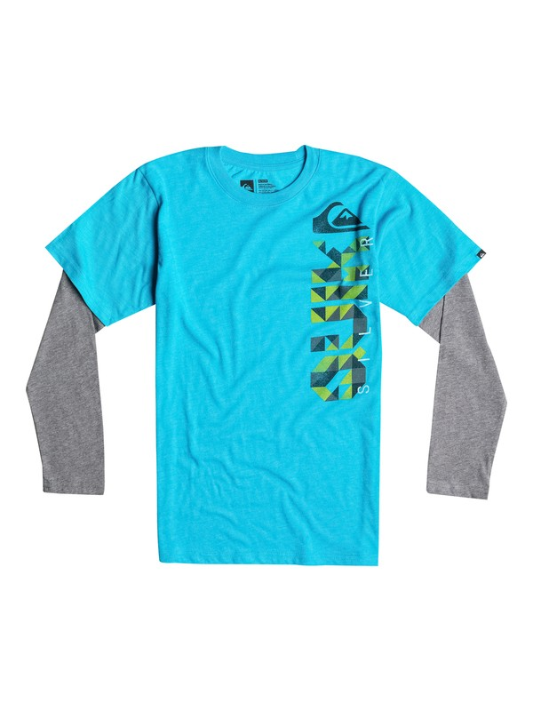 0 Boys 4-7 Triangular Tee  40654023 Quiksilver