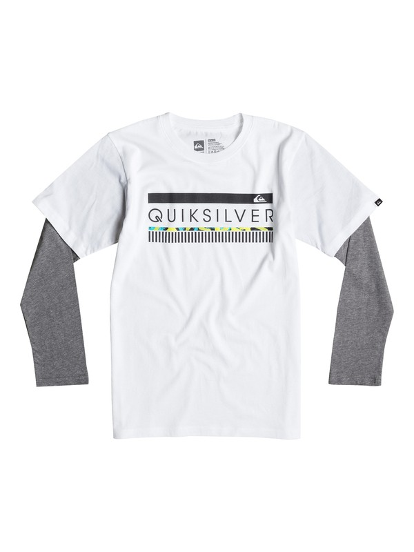 0 Boys 4-7 In The Zone Tee  40654025 Quiksilver