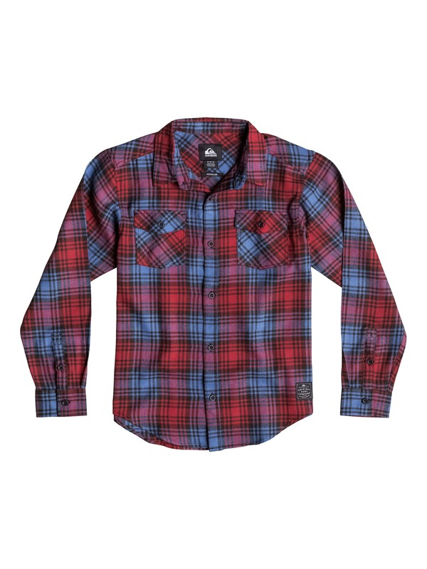 0 Boys 4-7 Everyday Flannel Long Sleeve Shirt  40654028 Quiksilver
