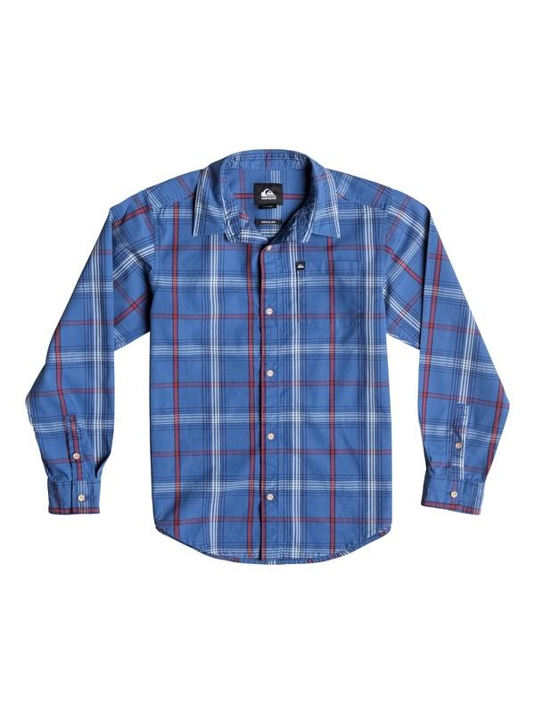 0 Boys 4-7 Zapped Stripe Long Sleeve Shirt  40654033 Quiksilver