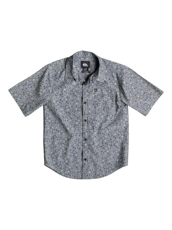 0 Boys 4-7 Micro Prints Short Sleeve Shirt  40654035 Quiksilver