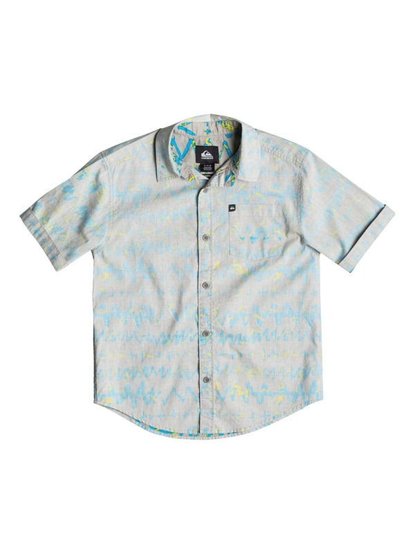 0 Boys 4-7 Day Rave Short Sleeve Shirt  40654036 Quiksilver