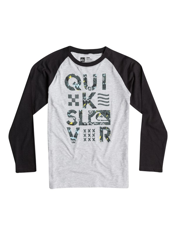 0 Boys 4-7 Too Quik Long Sleeve Tee  40654052 Quiksilver