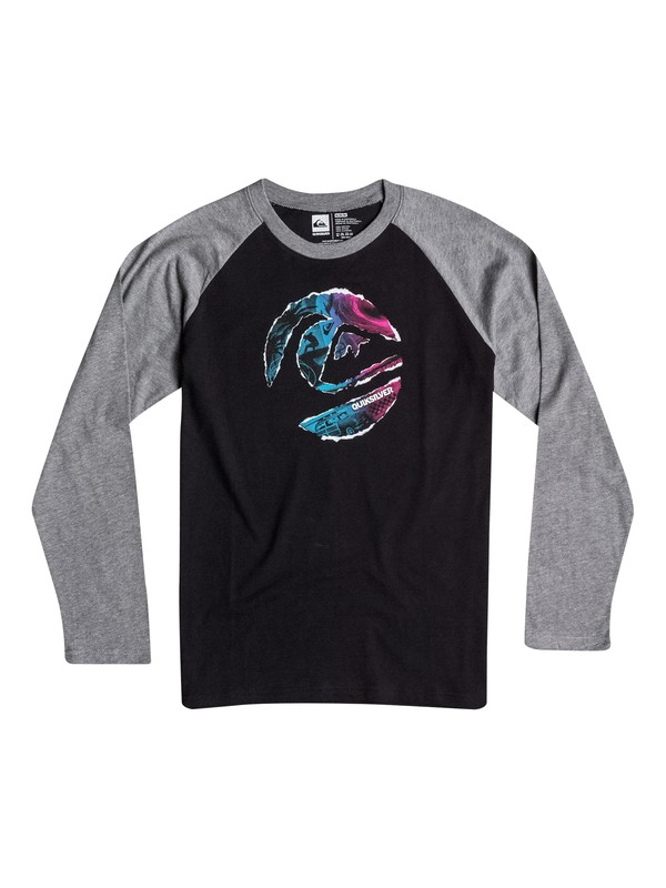 0 Boys 4-7 Ripped Circle Long Sleeve Tee  40654053 Quiksilver