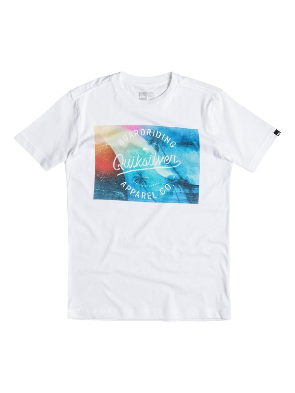 0 Boys 4-7 Palm Wave Fin Tee  40654080 Quiksilver