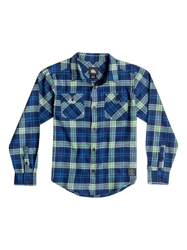 0 Boys 4-7 Everyday Flannel Long Sleeve Shirt  40654135 Quiksilver