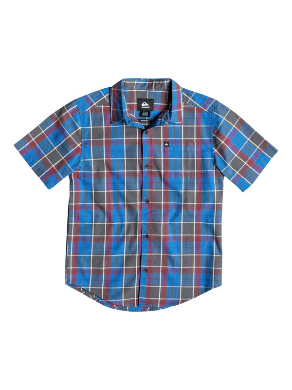 0 Boys 4-7 Think Short Sleeve Shirt  40654139 Quiksilver