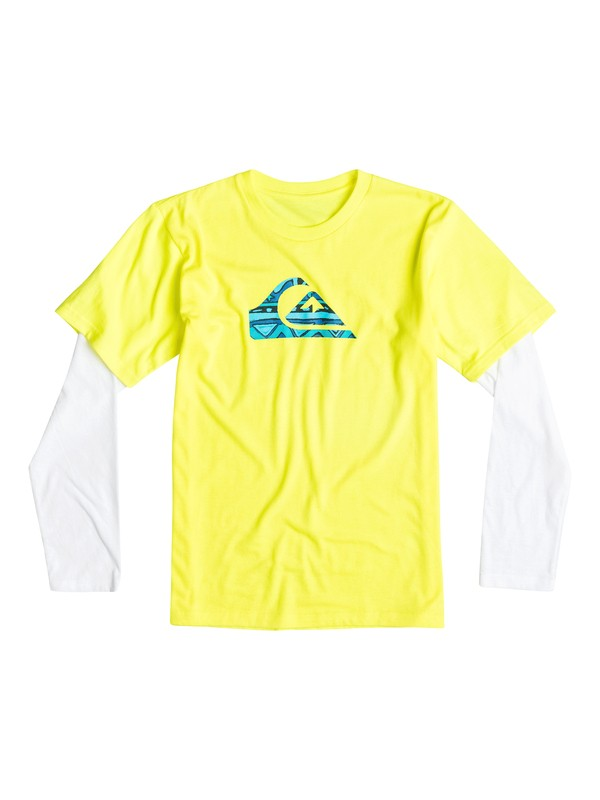 0 Boys 4-7 Flave Long Sleeve T-Shirt  40654149 Quiksilver