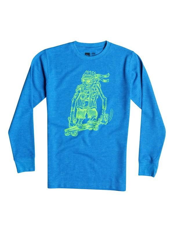 0 Boys 4-7 Sk8 Monkey Long Sleeve T-Shirt  40654152 Quiksilver
