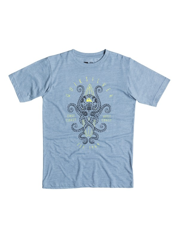 0 Boys 4-7 Octosurf T-Shirt  40654175 Quiksilver