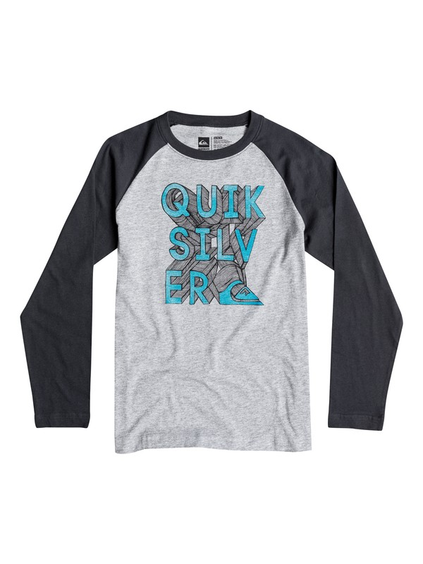 0 Boys 4-7 3D-Ish Long Sleeve T-Shirt  40654194 Quiksilver