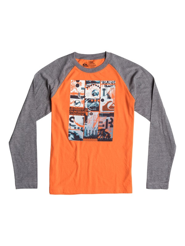 0 Boys 4-7 Multi Image Long Sleeve T-Shirt  40654195 Quiksilver