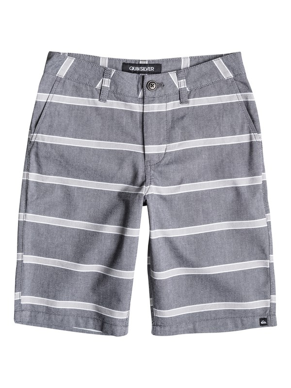 0 Boys 4-7 Everyday Oxford Stripe Shorts  40655011 Quiksilver