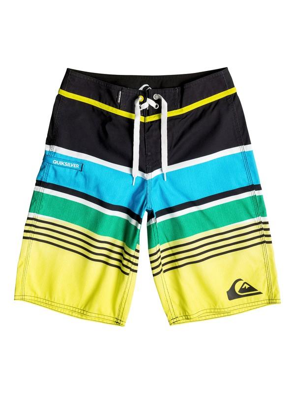 0 Boys 4-7 Everyday Stripe Boardshorts  40655017 Quiksilver