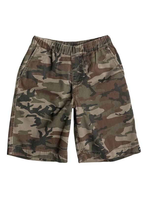 0 Boys 4-7 Camo Elastic Shorts  40655047 Quiksilver