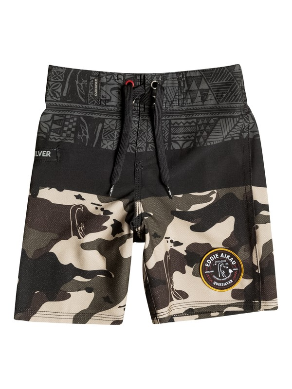 0 Boys 4-7 Sunset Eddie Boardshorts  40655050 Quiksilver